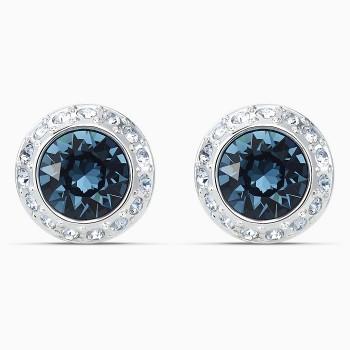 Swarovski Angelic Stud Pierced Earrings, Blue, 5536770 κοσμήματα, σκουλαρίκια Swarovski, τιμές, ποικιλία σχεδίων, προσφορές