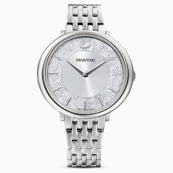 Swarovski Crystalline Chic, Metallic Bracelet, Silver, Stainless Steel, 5544583, ρολόι SWAROVSKI, τιμές, ποικιλία σχεδίων, προσφορές