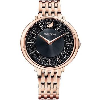 Swarovski Crystalline Chic, Metal Bracelet, Black, Rose-Gold, 5544587 ρολόι SWAROVSKI, τιμές, ποικιλία σχεδίων, προσφορές