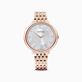 Swarovski Crystalline Chic, Metal Bracelet, Rose-Gold TONE, 5544590 ρολόι SWAROVSKI, τιμές, ποικιλία σχεδίων, προσφορές