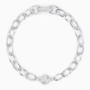 Swarovski Elements, Λευκό, Επιροδιωμένο, 5560662 κοσμήματα, βραχιόλι Swarovski , τιμές, ποικιλία σχεδίων, προσφορές