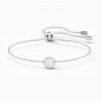 Swarovski Angelic, Λευκό, Επιροδιωμένο, 5567934 κοσμήματα, βραχιόλι Swarovski , τιμές, ποικιλία σχεδίων, προσφορές