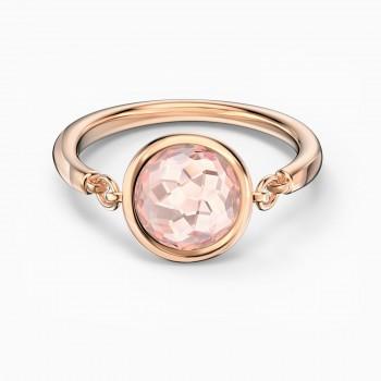 Swarovski Tahlia, Ροζ, Επιχρυσωμένο σε ροζ χρυσαφί απόχρωση, 5572704 δαχτυλίδι Swarovski, ποικιλία σχεδίων, τιμές, προσφορές