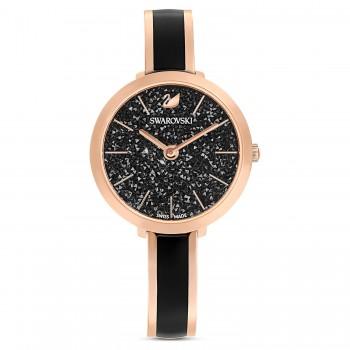 Swarovski Crystalline Delight, Metallic Bracelet, Black, 5580530 ρολόι SWAROVSKI, τιμές, ποικιλία σχεδίων, προσφορές