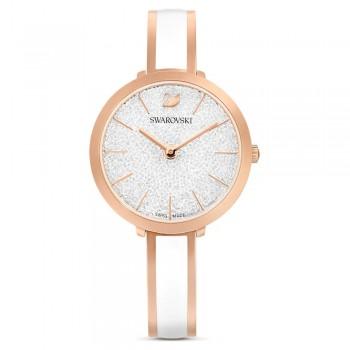 Swarovski Crystalline Delight, White, 5580541 ρολόι SWAROVSKI, τιμές, ποικιλία σχεδίων, προσφορές