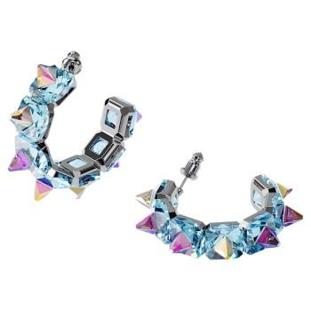 Swarovski Chroma, Μπλε, Επιροδιωμένα, 5600894 κοσμήματα σκουλαρίκια Swarovski, τιμές, ποικιλία σχεδίων, προσφορές