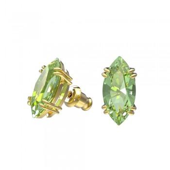 Swarovski Gema Stud, Πράσινα, Επιχρυσωμένα, 5614453 κοσμήματα σκουλαρίκια Swarovski, τιμές, ποικιλία σχεδίων, προσφορές