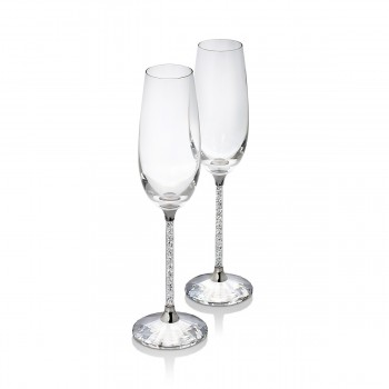 Swarovski Crystalline Toasting Flutes (Set of 2) 255678
