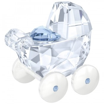 Swarovski Baby Carriage Blue Authentic 5136921