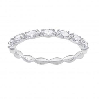 Swarovski Vittore Marquise Rhodium Plated Ring 5354786