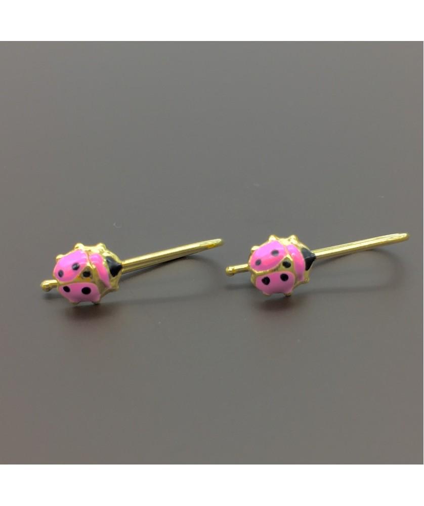 Χρυσά παιδικά σκουλαρίκια 14029cfabf3