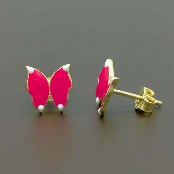 37bcce7635 Χρυσά παιδικά σκουλαρίκια
