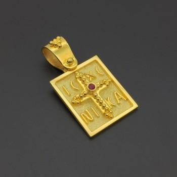 Κωνσταντινάτο χρυσό 18Κ