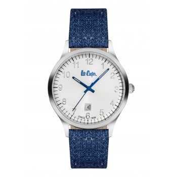 Lee Cooper Blue Leather Strap LC06296.339