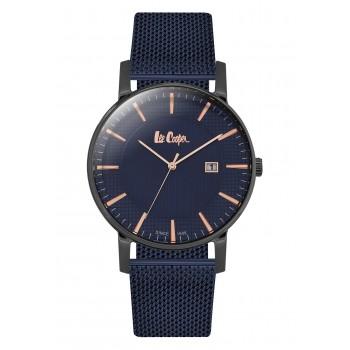 Lee Cooper Blue Metal Mesh Bracelet LC06428.090