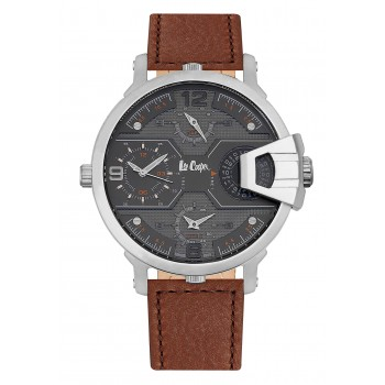 Lee Cooper Multifunction Brown Leather Strap LC06440.352