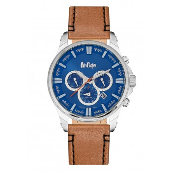 Lee Cooper Multifunction Brown Leather Strap LC06444.395