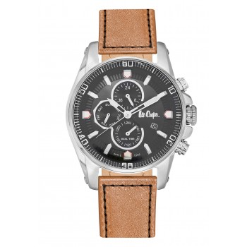 Lee Cooper Multifunction Brown Leather Strap LC06446.355