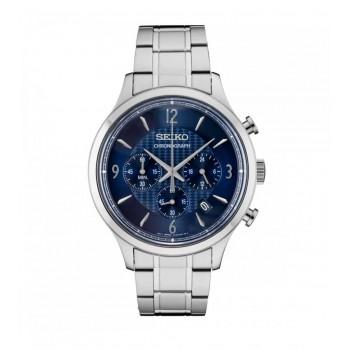 Ρολόι Seiko Analog Blue Dial, SSB339P1 ρολόγια Seiko, ποικιλία σχεδίων, προσφορές