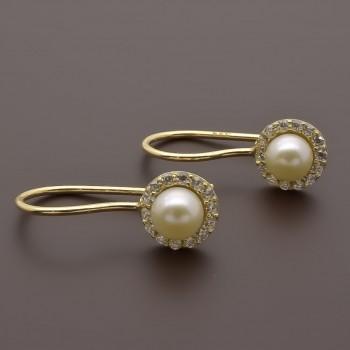 Σκουλαρίκια μαργαριτάρια