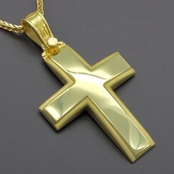 Σταυρός ΤΡΙΑΝΤΟΣ 18 καράτια